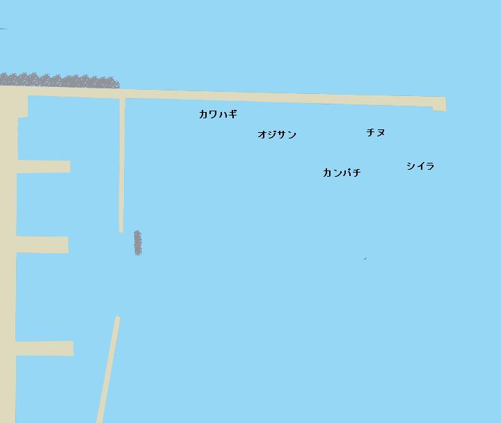 奄美大島名瀬港西堤