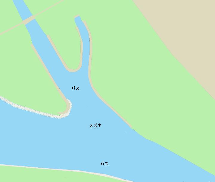 荒川温排水(埼玉県戸田市)