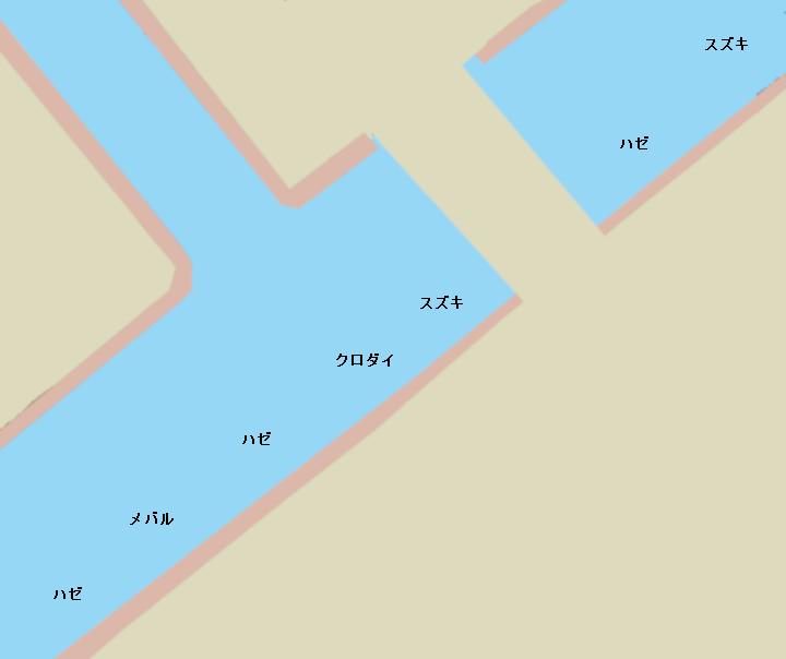 豊洲運河朝凪橋周辺