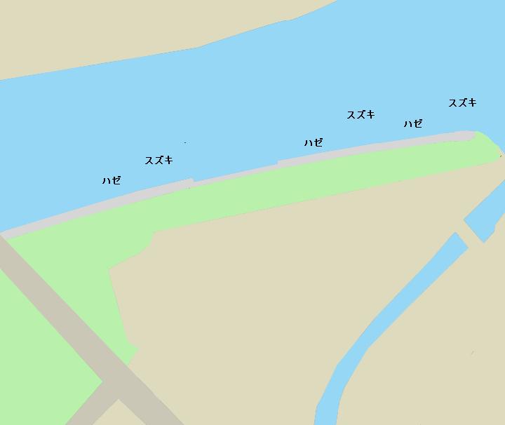 越中島公園ポイント図