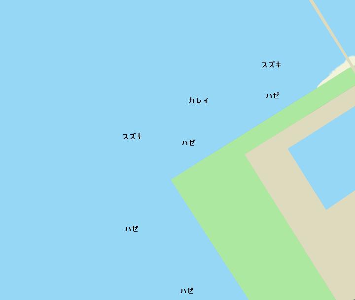 富津みなと公園ポイント図