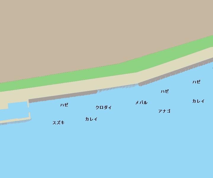 行徳港周辺ポイント図