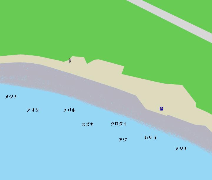 八貫山下ポイント図