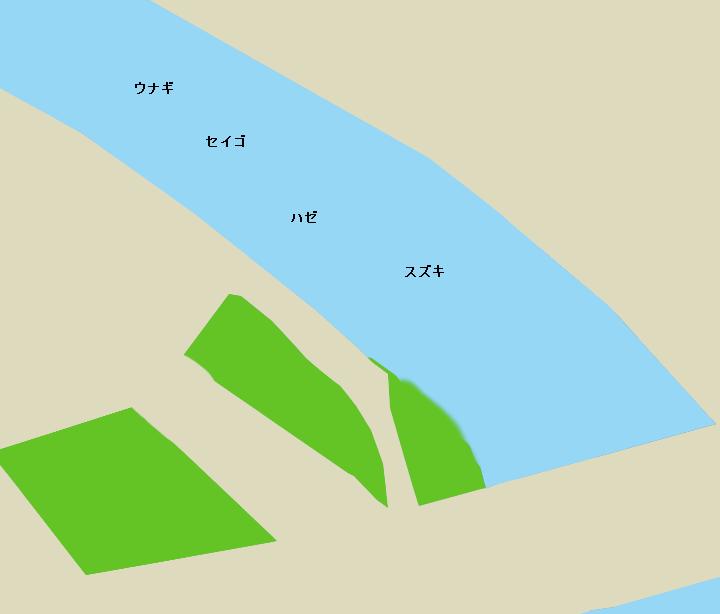 引地川鵠沼橋周辺