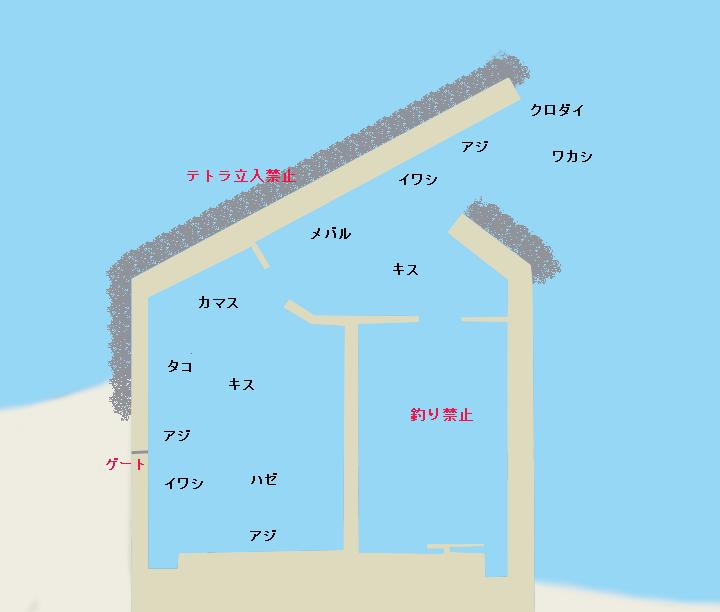 平塚新港ポイント図