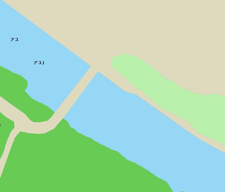 名張川広瀬橋周辺