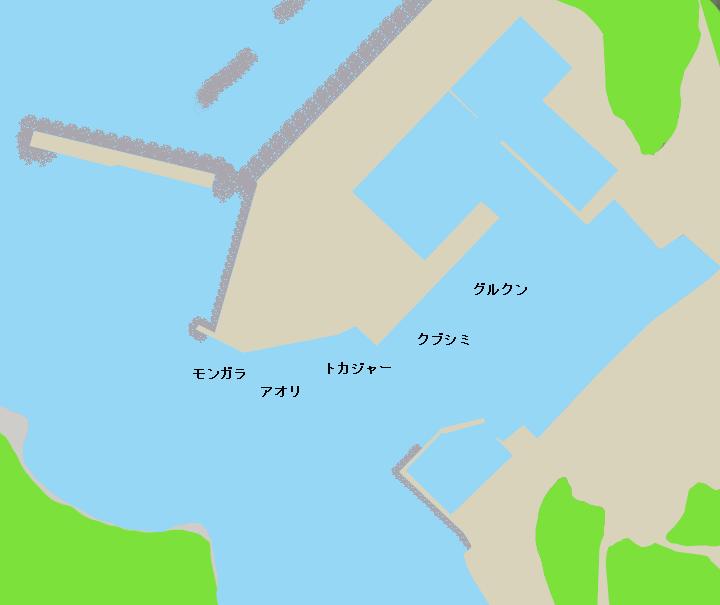 与那国島久部良漁港