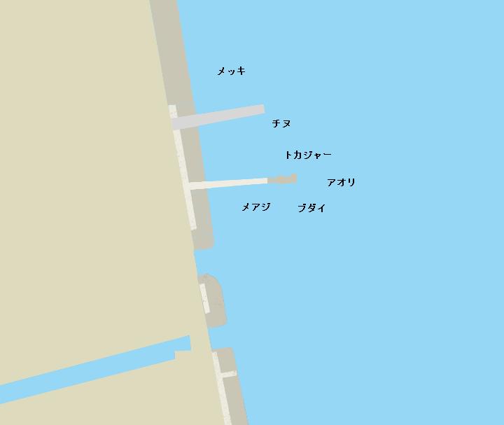 加計呂麻島俵の桟橋