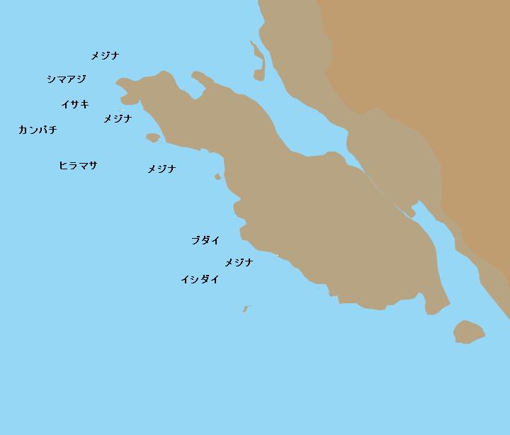 地内島カンノンズシロ