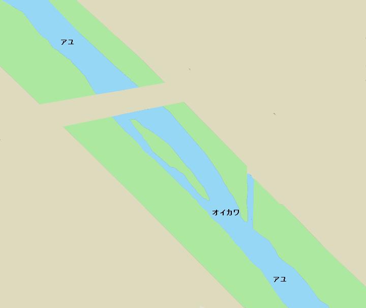 狩川塚原橋周辺のポイント