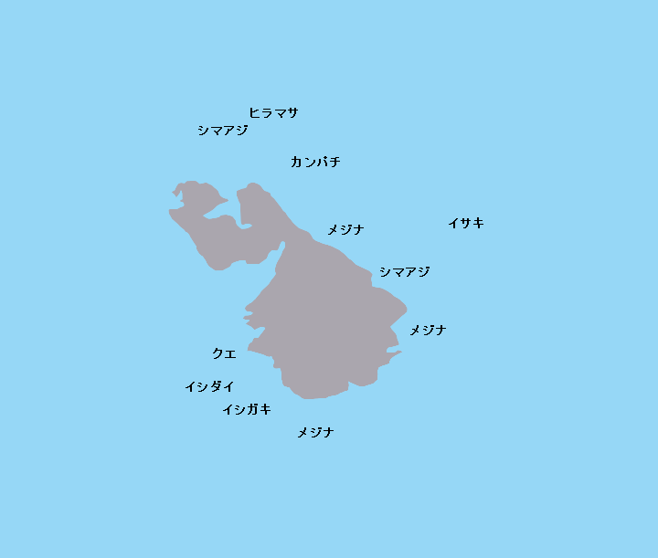 鵜渡根群礁カツオ
