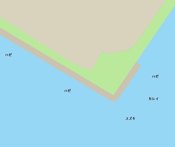 京浜島緑道公園ポイント図