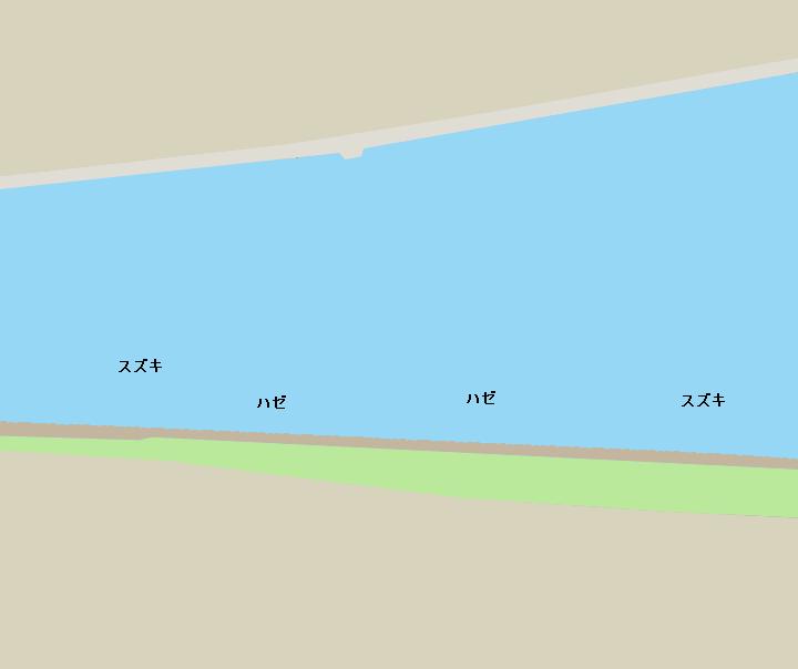 旧江戸川東葛西側河川敷