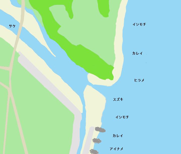 木戸川河口