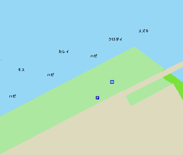 木更津潮浜公園ポイント図