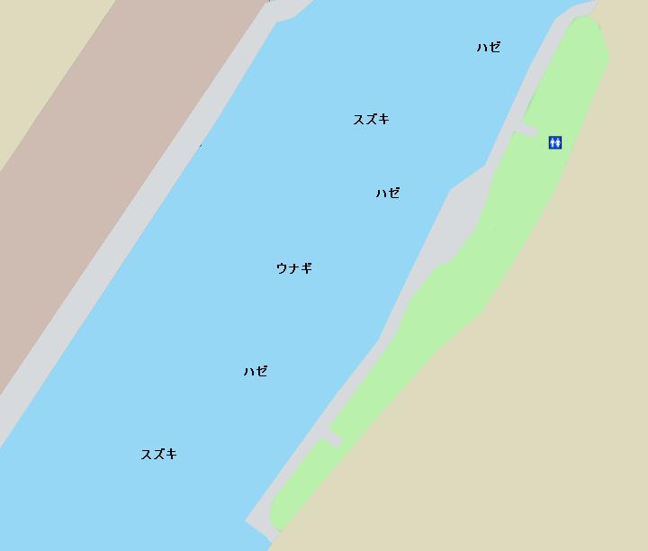 旧江戸川常夜灯公園周辺のポイント
