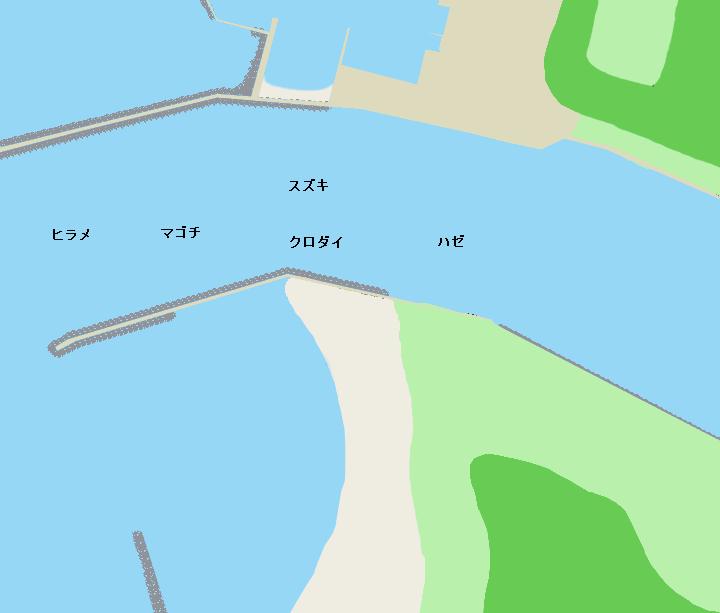 子吉川河口