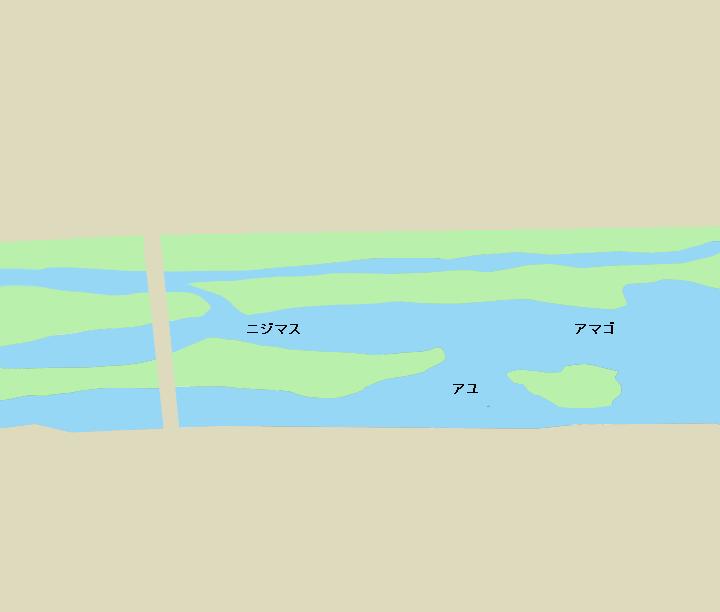 名張川鍛冶町橋周辺