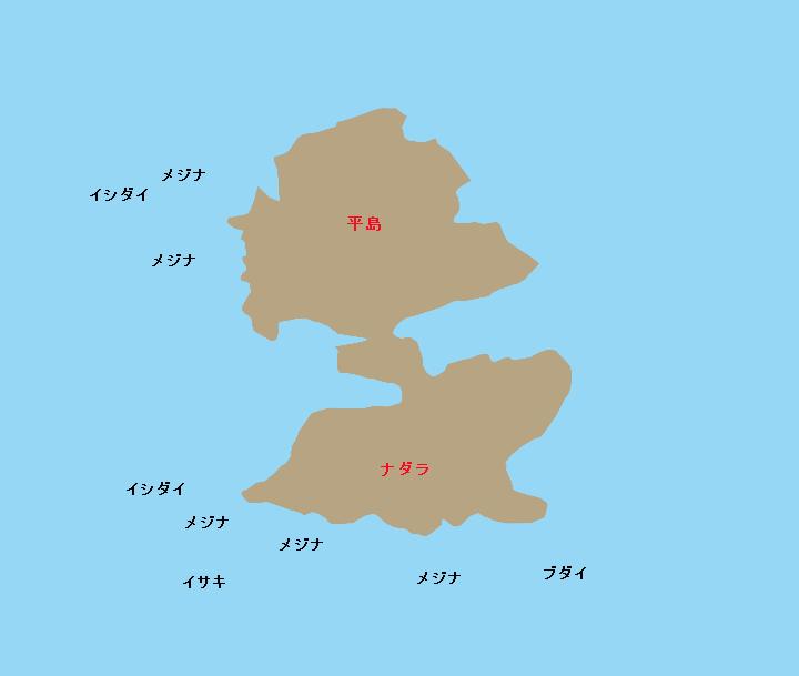 地内島ナダラ根