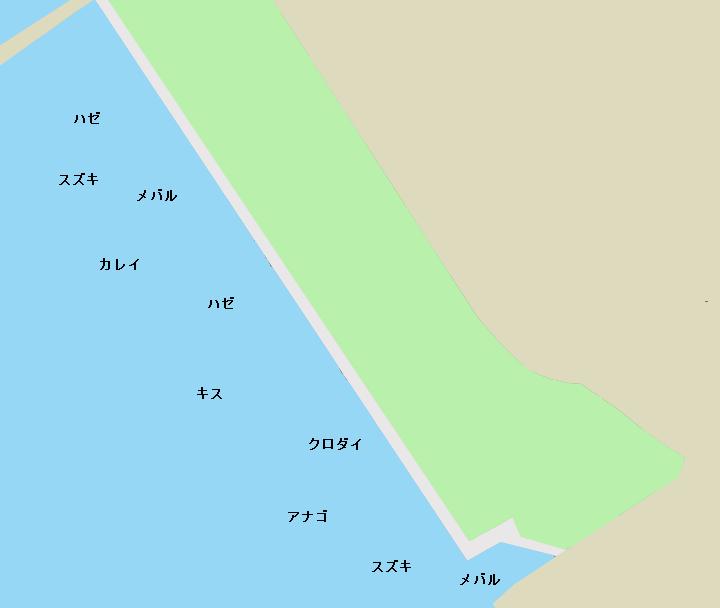 青海南ふ頭公園ポイント図