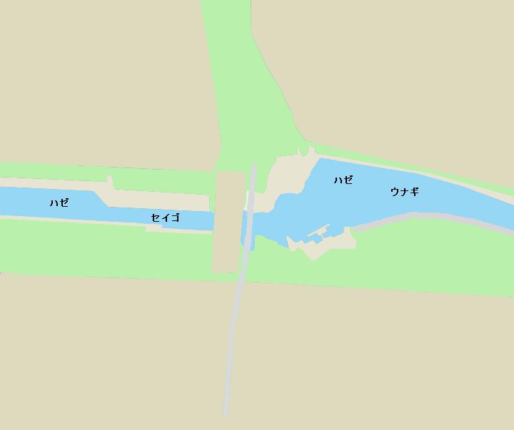 新左近川親水公園ポイント図
