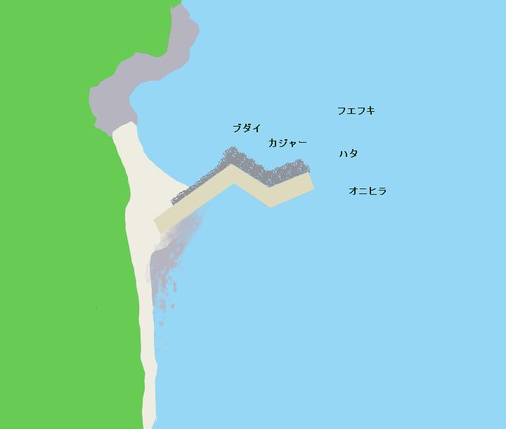 加計呂麻島実久漁港