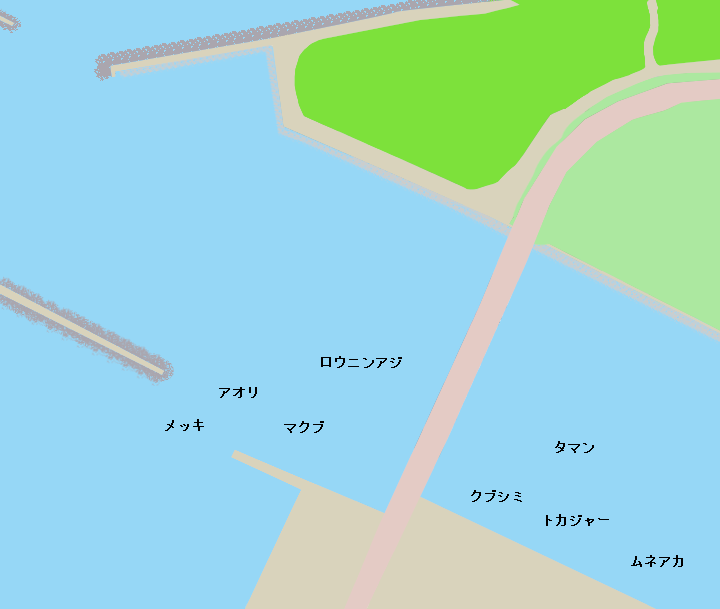 石垣島石垣港サザンゲート周辺