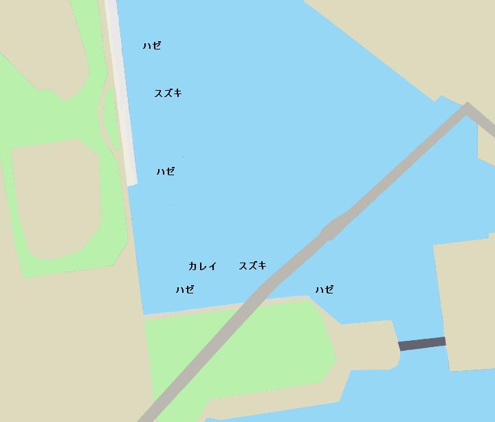 東雲水辺公園ポイント図