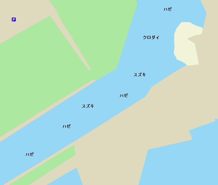 新富運河河口
