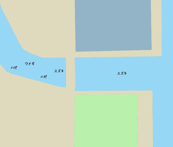 巴川河口ポイント図