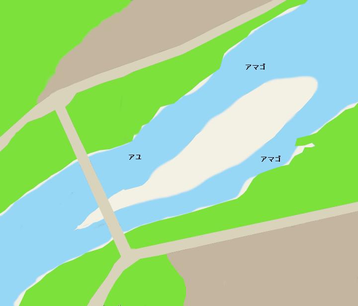遠山川新松島橋周辺