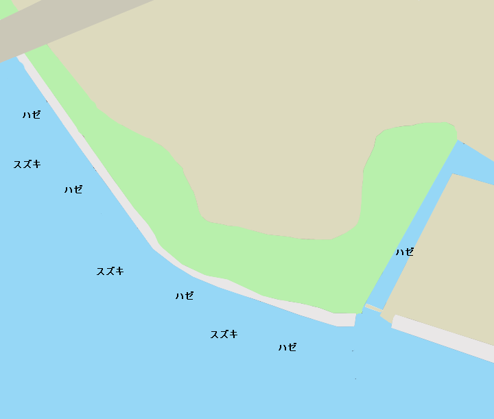 佃公園ポイント図