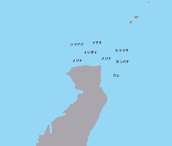 鵜渡根島ウノクソ