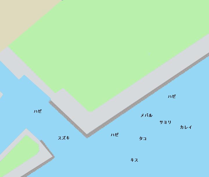 浦安総合運動公園周辺ポイント図