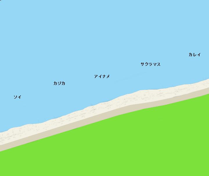 奥尻島千畳敷海岸