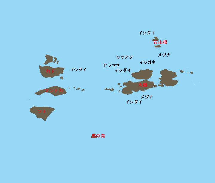 銭洲ネープルスポイント図