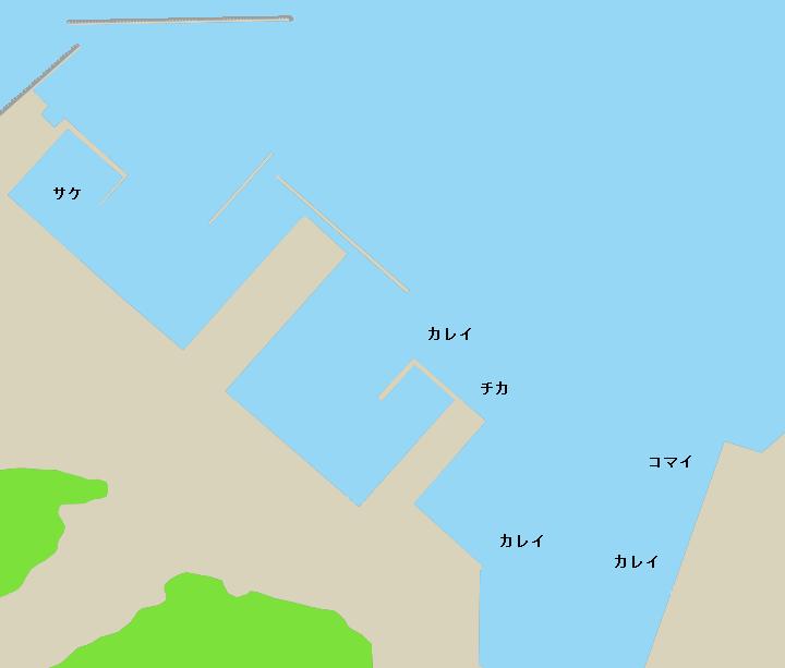厚岸漁港ポイント図