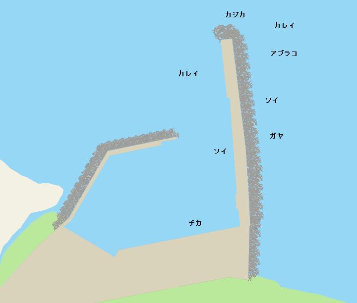 濃昼漁港ポイント図