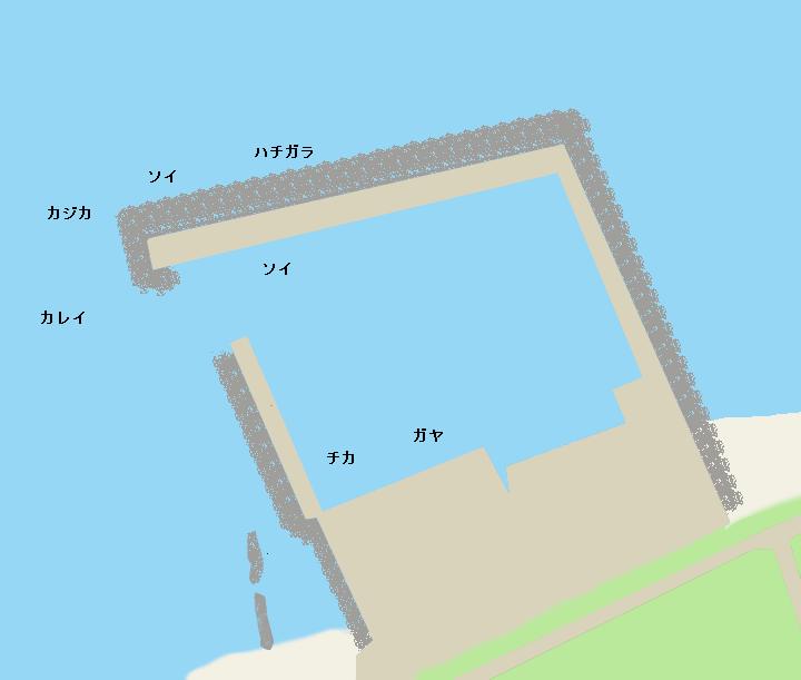 群別漁港ポイント図