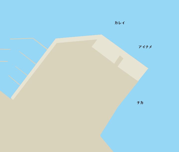 函館港西埠頭ポイント図