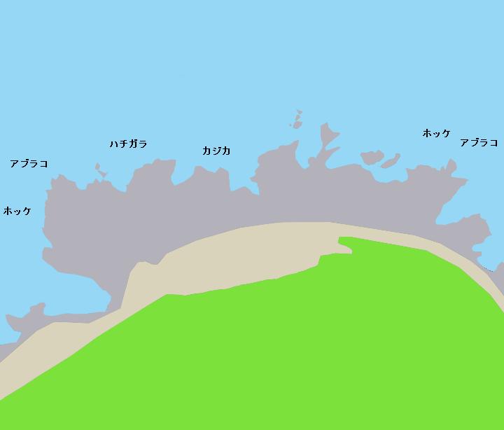 稲荷岬ポイント図