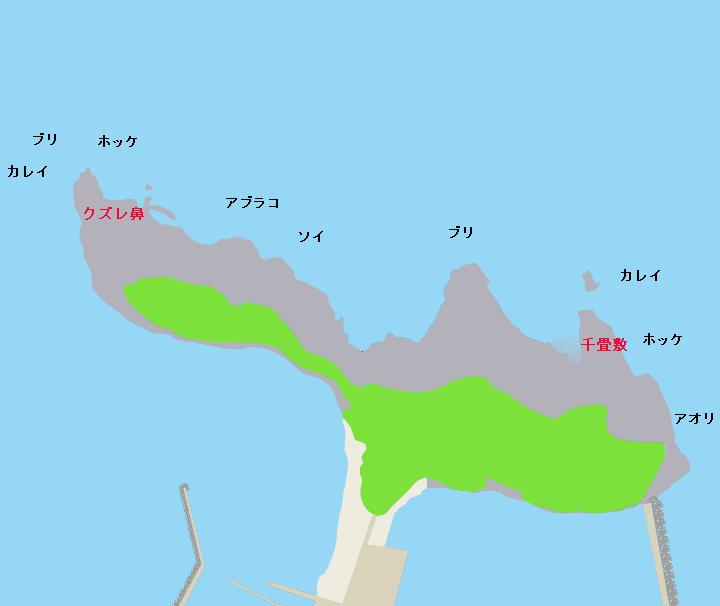 鴎島ポイント図