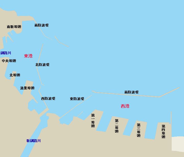 釧路港全体図