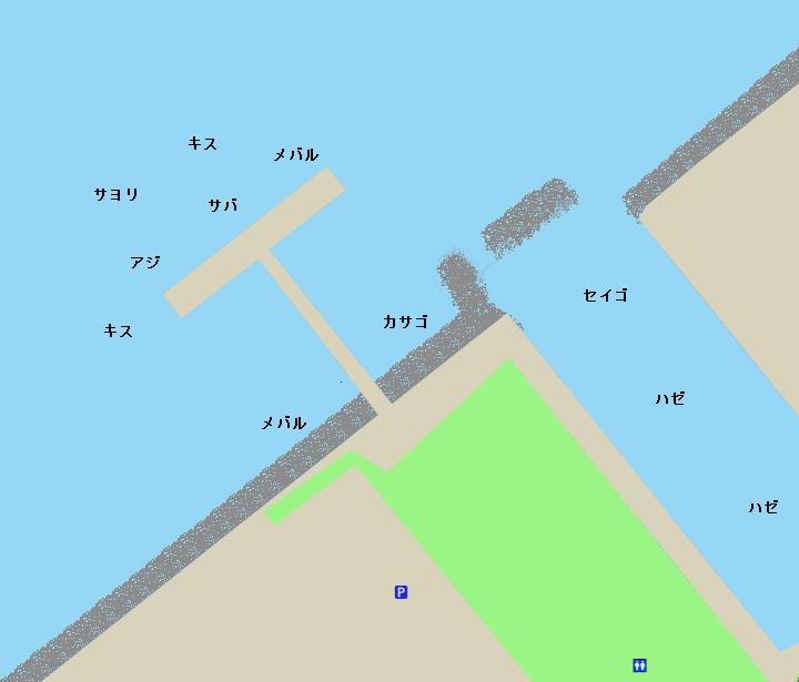緑が浜エコパークポイント図