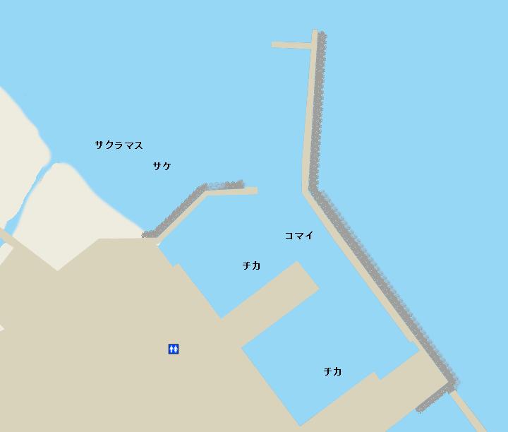 音調津港ポイント図