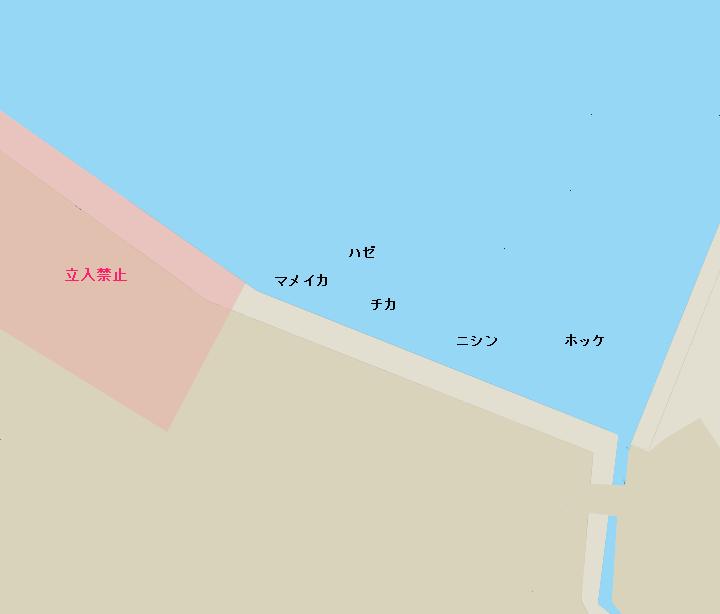 小樽港北浜岸壁
