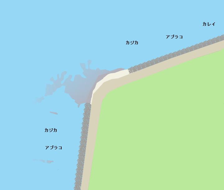 シノダイ岬ポイント図