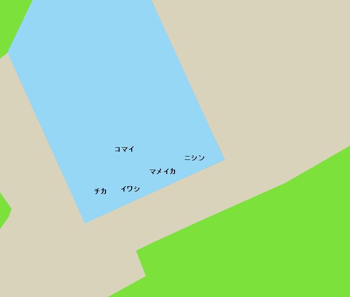 苫小牧西港勇払埠頭ポイント図