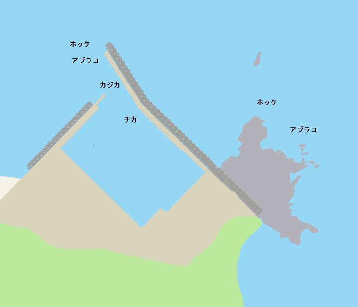 東洋漁港ポイント図