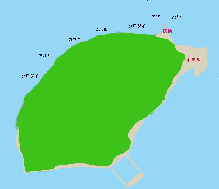 淡島ポイント図